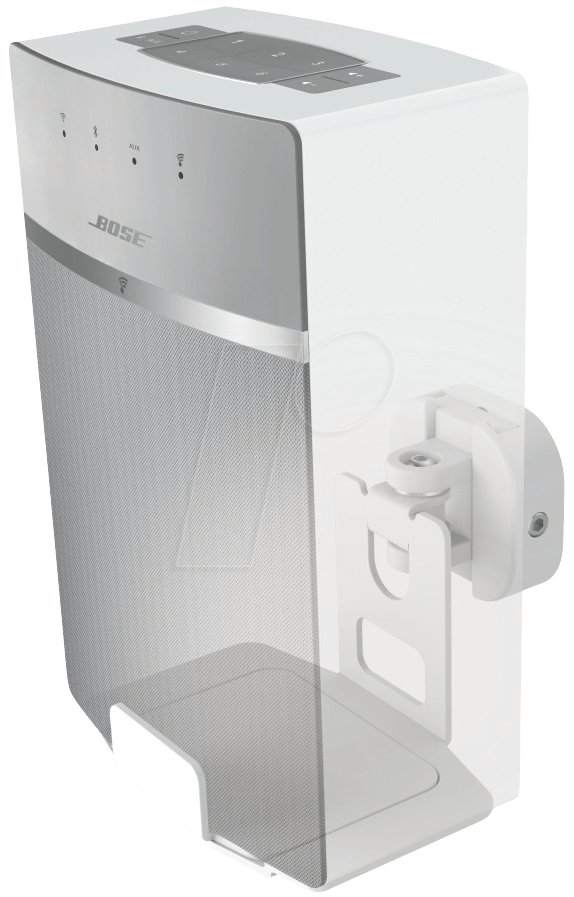 bose soundtouch 10. wall mount for bose soundtouch 10/20, white hama 118034 10