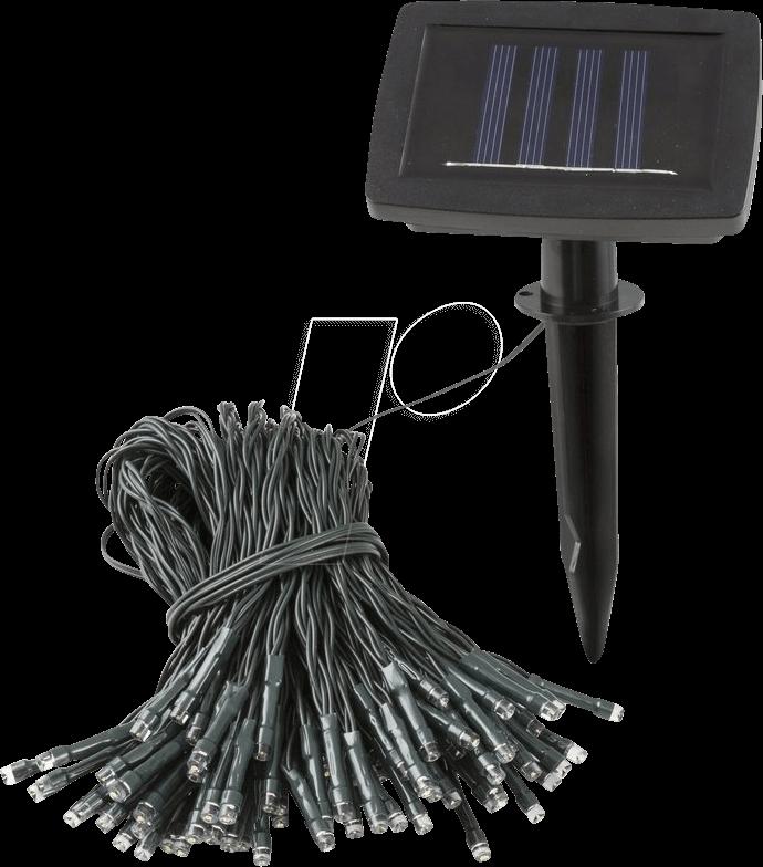 HEIT 35459 - LED-Solarleuchte, Lichterkette, IP44, BARI 100