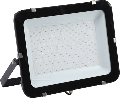 OPT FL5795 - LED-Flutlicht, 200 W, 24000 lm, 4500 K, slim, schwarz, IP65