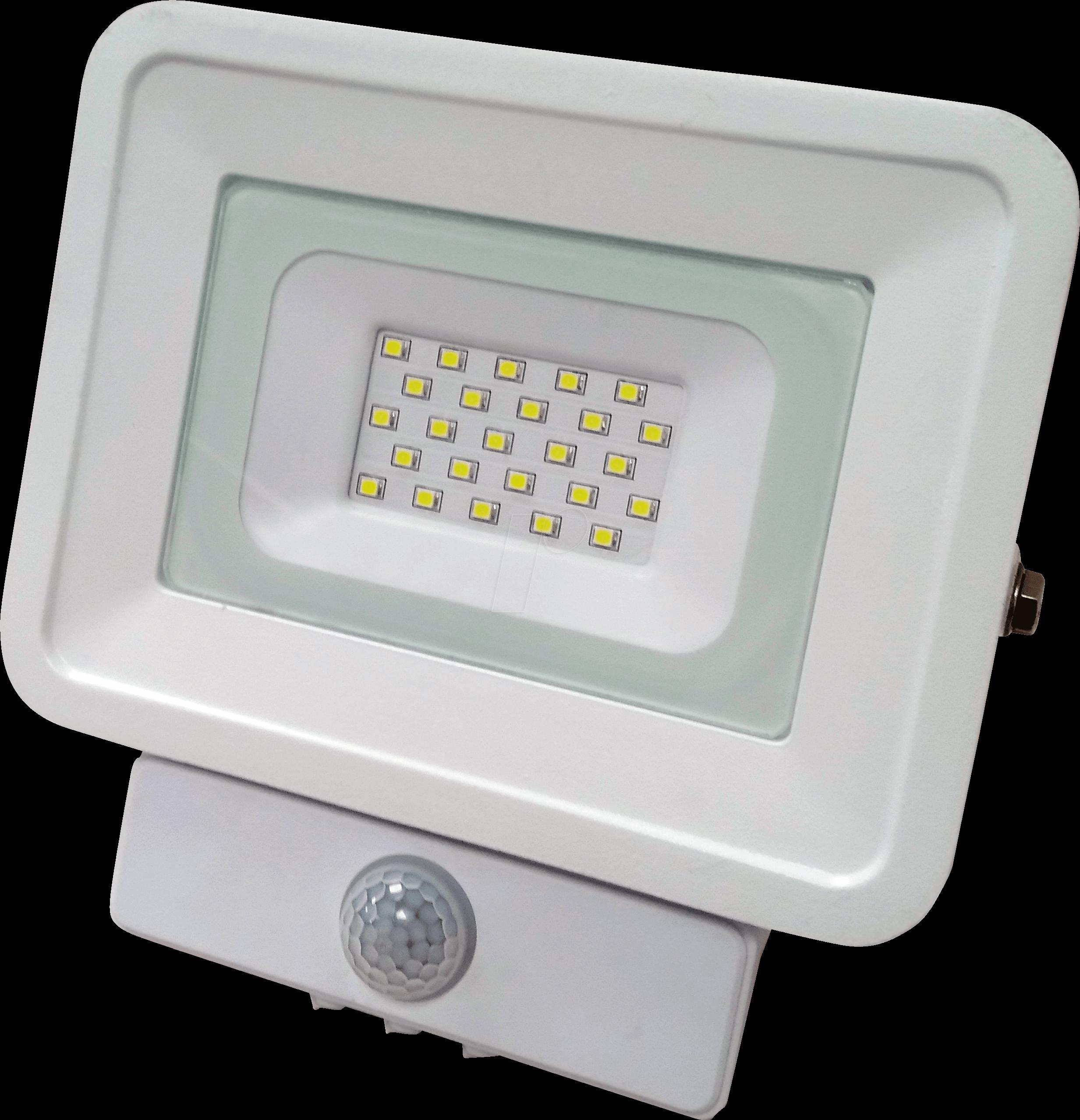 OPT FL5842 - LED-Fluter, Bewegungsmelder, 10 W, 850 lm, 4500 K, IP65