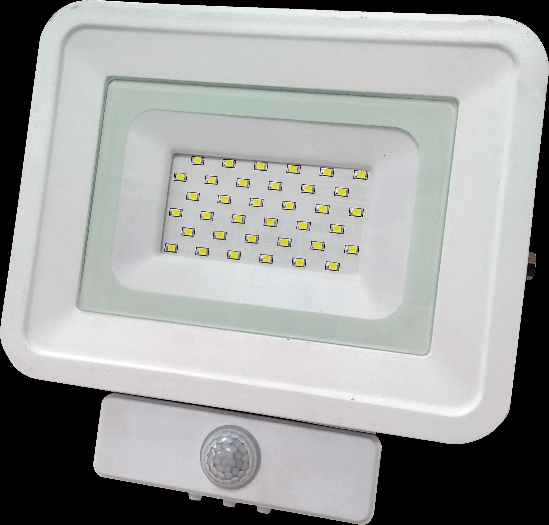 OPT FL5849 - LED-Fluter, Bewegungsmelder, 30 W, 2250 lm, 2700 K, IP65