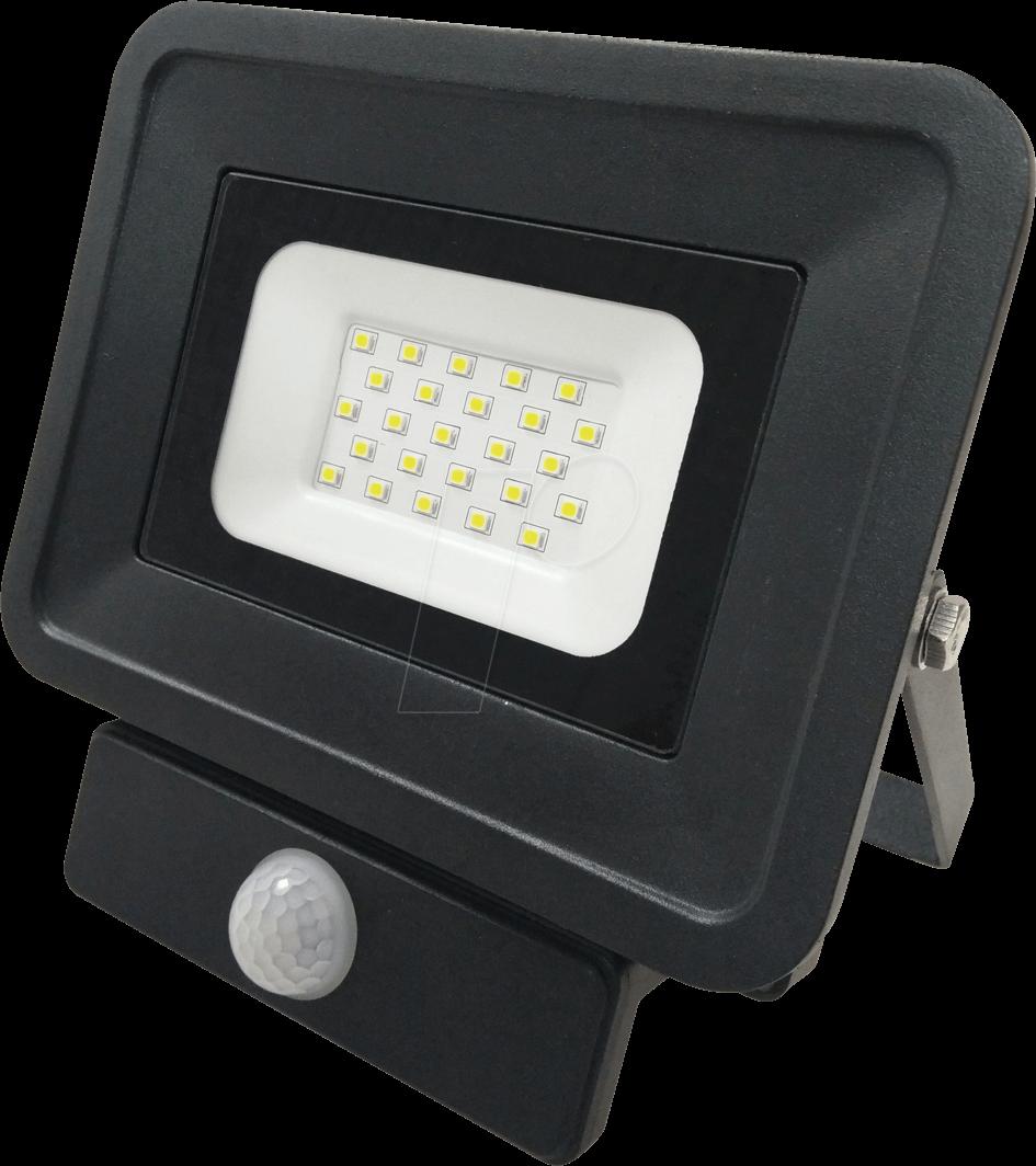 OPT FL5857 - LED-Fluter, Bewegungsmelder, 20 W, 1700 lm, 4500 K, IP65