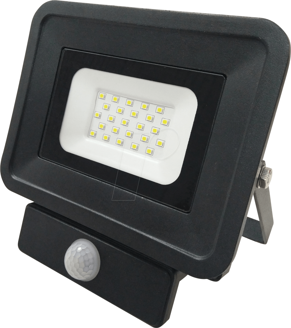 OPT FL5858 - LED-Fluter, Bewegungsmelder, 20 W, 1700 lm, 2700 K, IP65