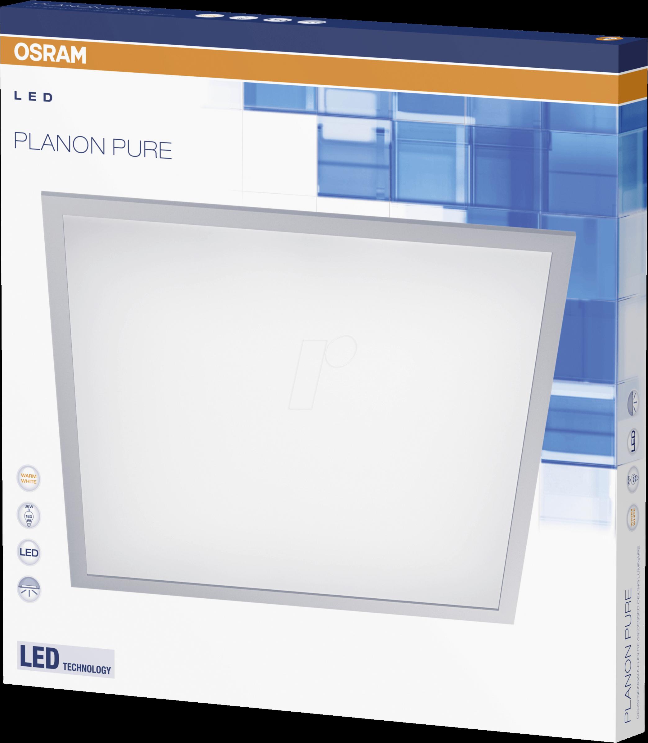 OSR 405807503534 - LED-Panel, PLANON PURE, 36 W, 3000 lm, 3000 K