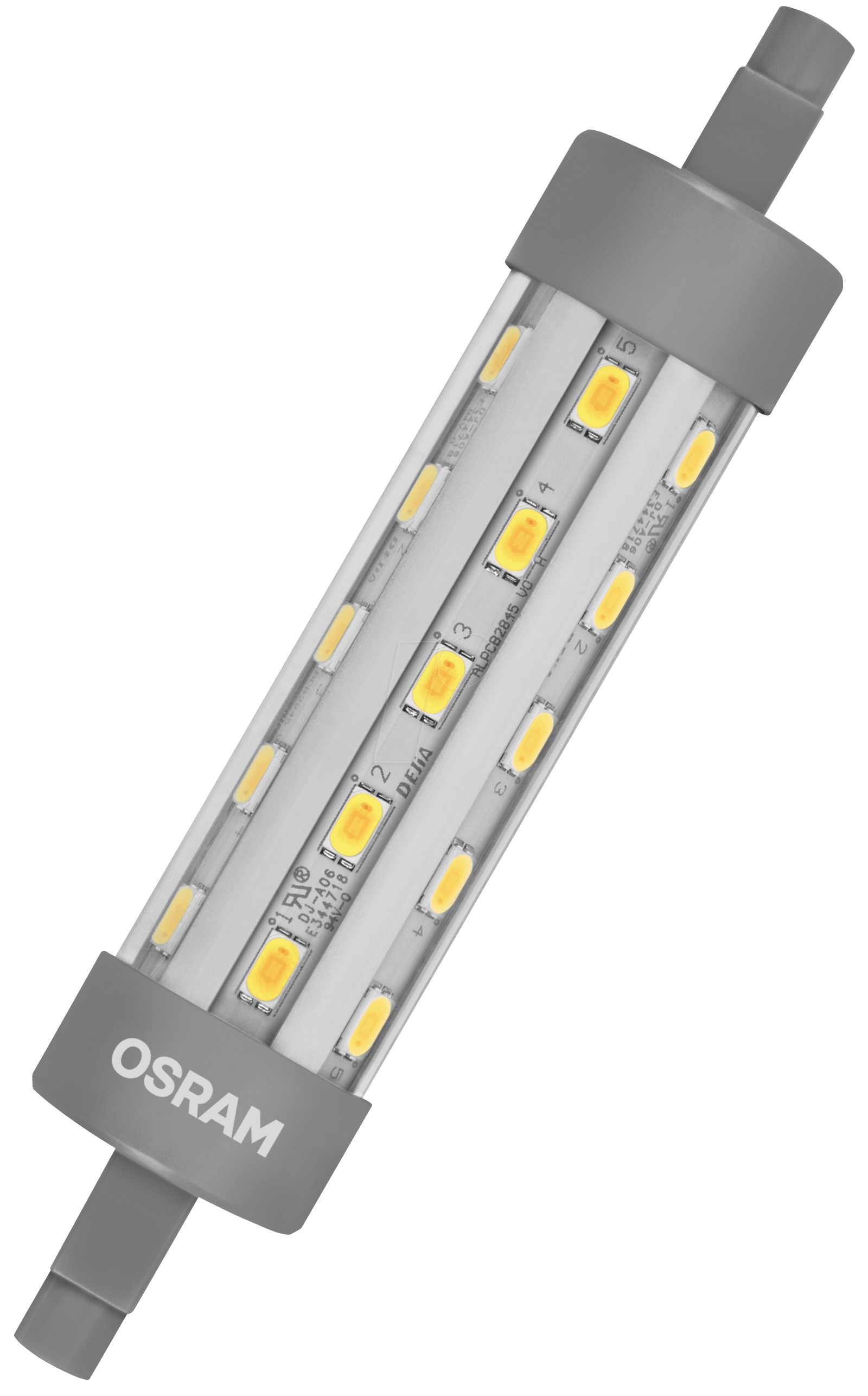 Osr 899961258 osram led star line 60 6 5 w r7s at for Led r7s 78mm osram