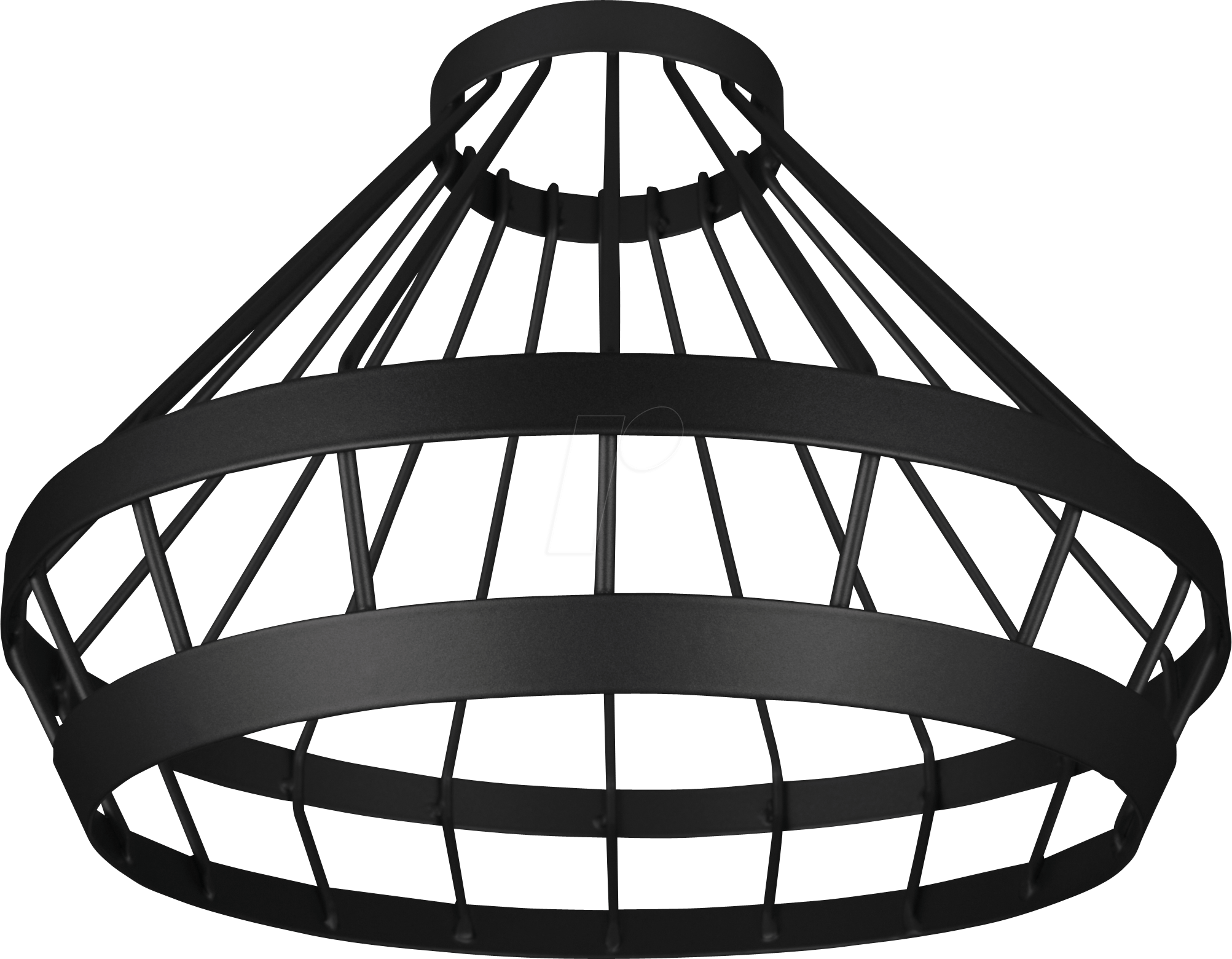 OSR 405807507354 - Lampenschirm CAGE für VINTAGE 1906 PENDULUM, schwarz