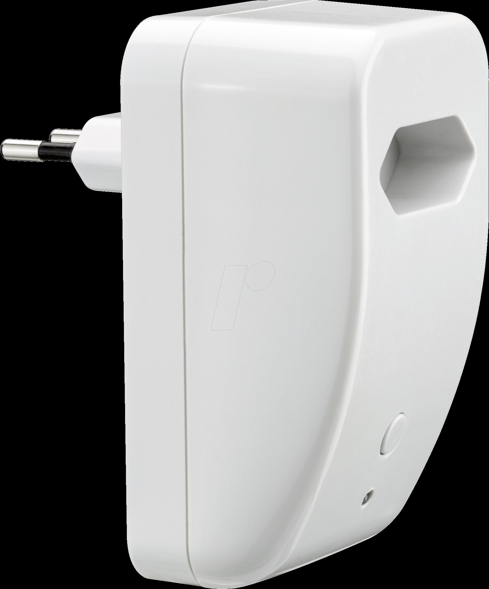 plm 50020 smart home steckdose europlug switch dimm bei reichelt elektronik. Black Bedroom Furniture Sets. Home Design Ideas