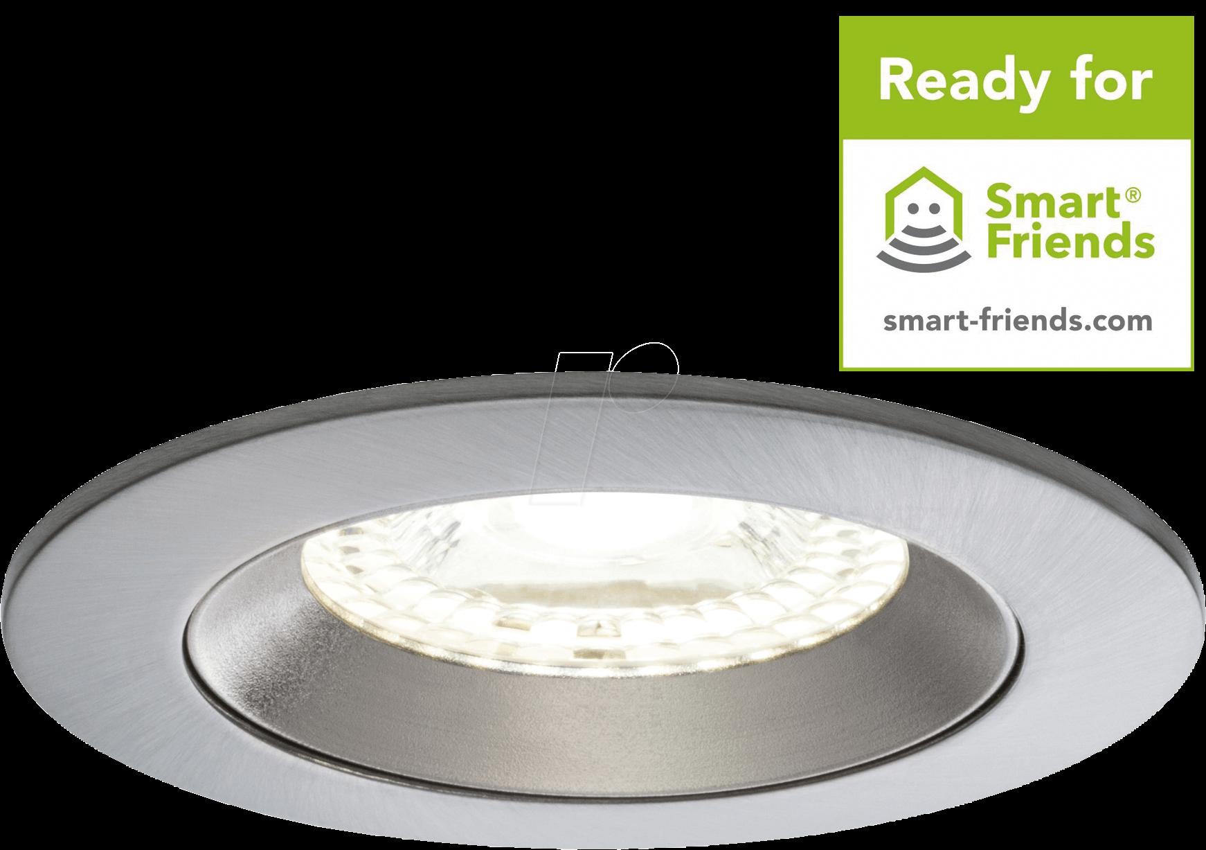 PLM 50068: Smart Light, ZigBee, Einbauleuchten-Set LED Lens, EEK A++ ...