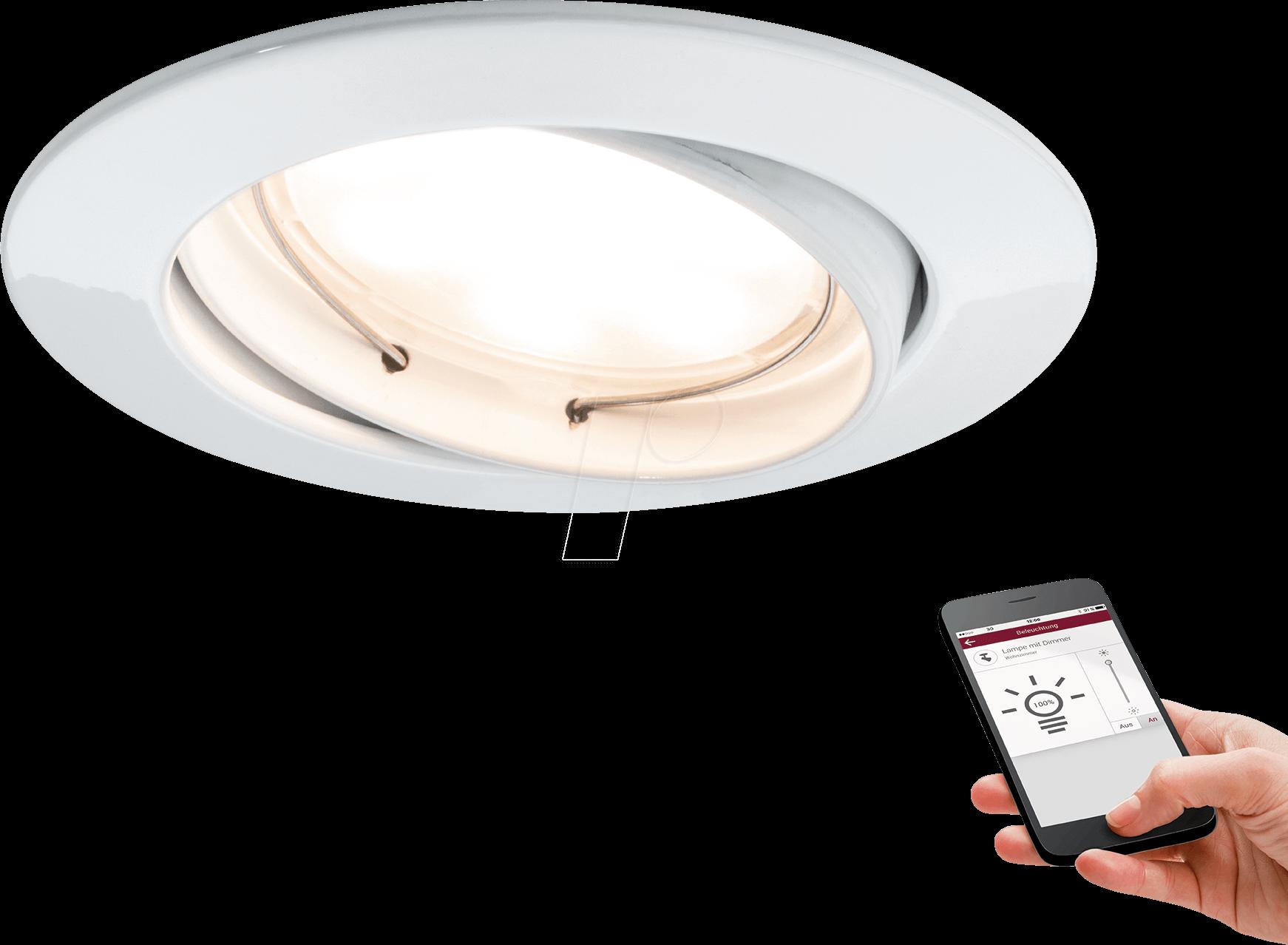 PLM 92094: Premium RL SmartCoin BLE dim swiv LED at reichelt elektronik