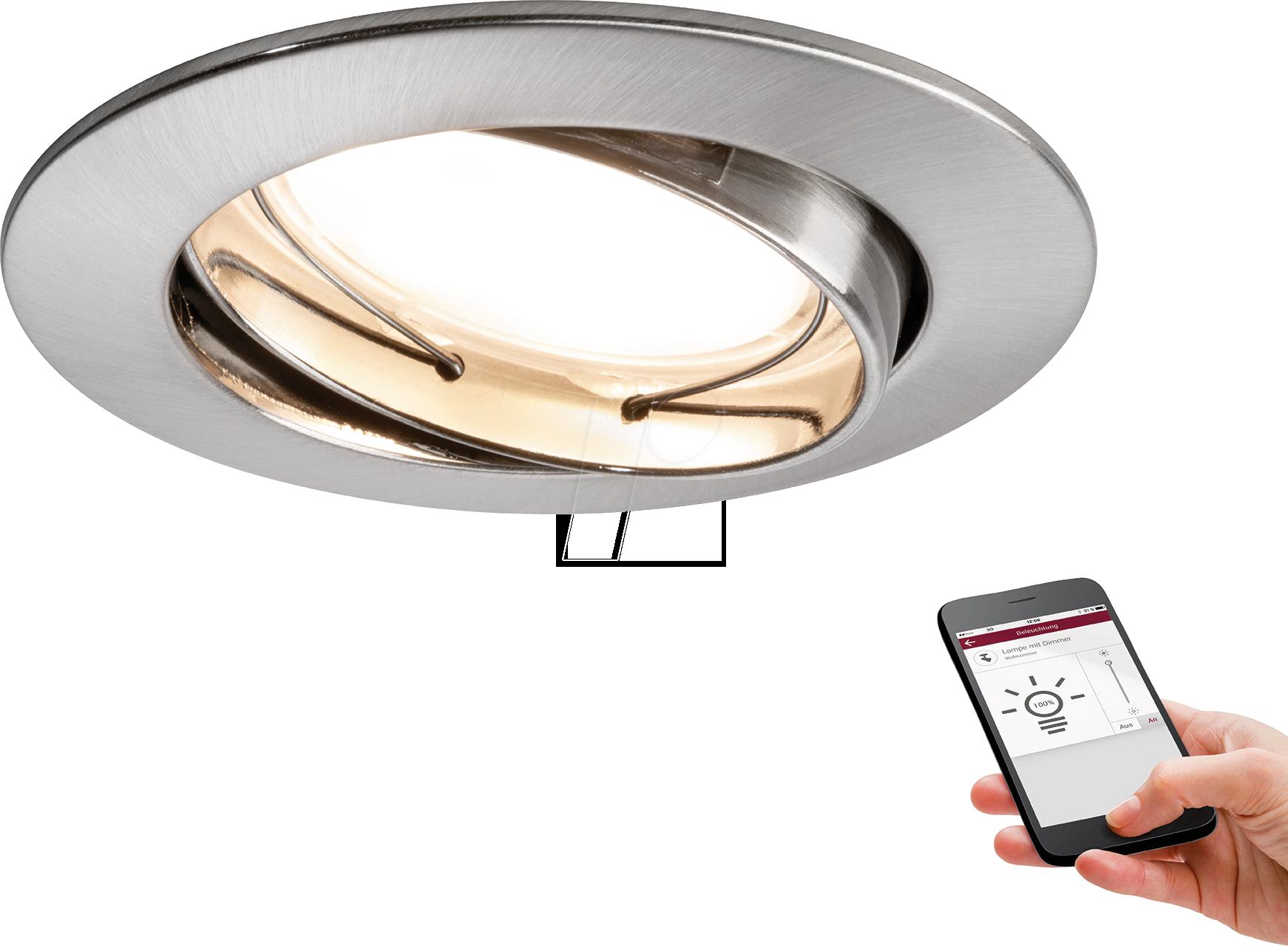 PLM 93844: Premium RL SmartCoin BLE dim swiv LED at reichelt elektronik