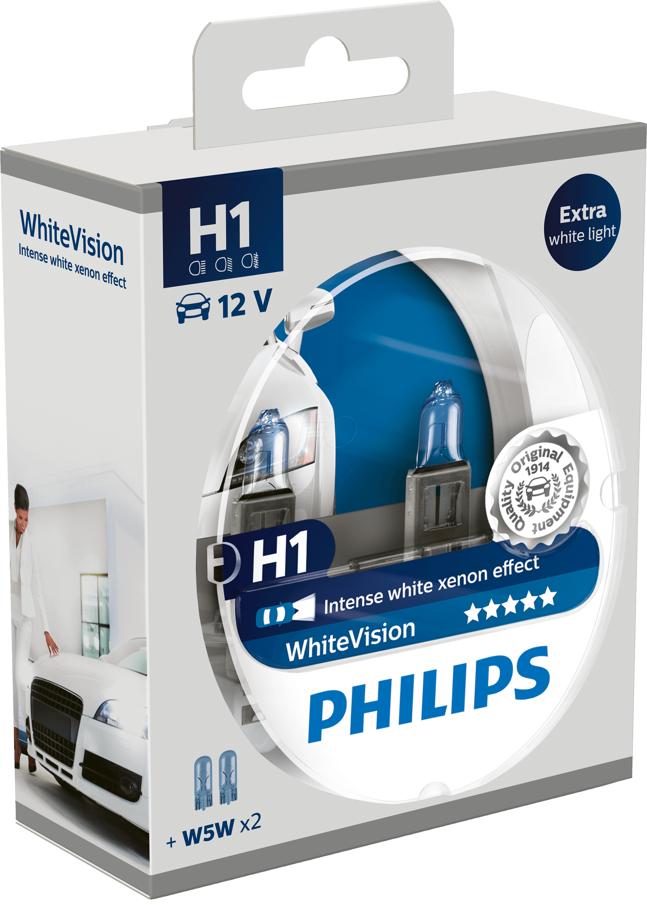 PHI H1 WHITE2: H1 richtspot lamp Philips White Vision, per ...