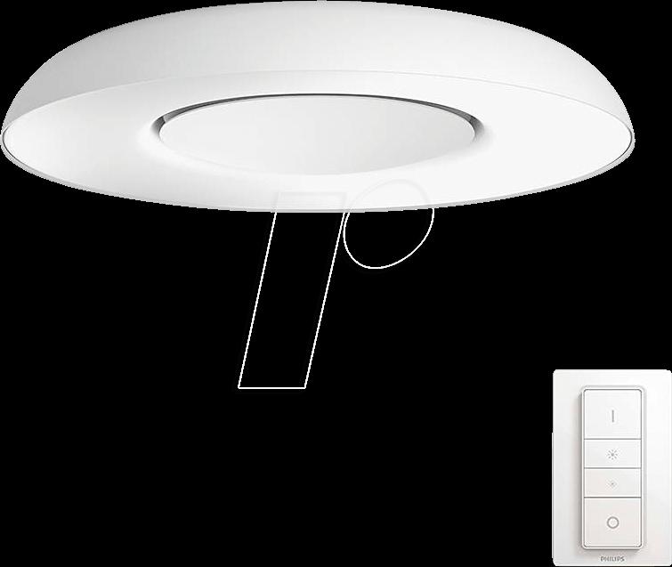 PHI 696159231 - Smart Light, Deckenleuchte, Hue Still, EEC A++ - E, white