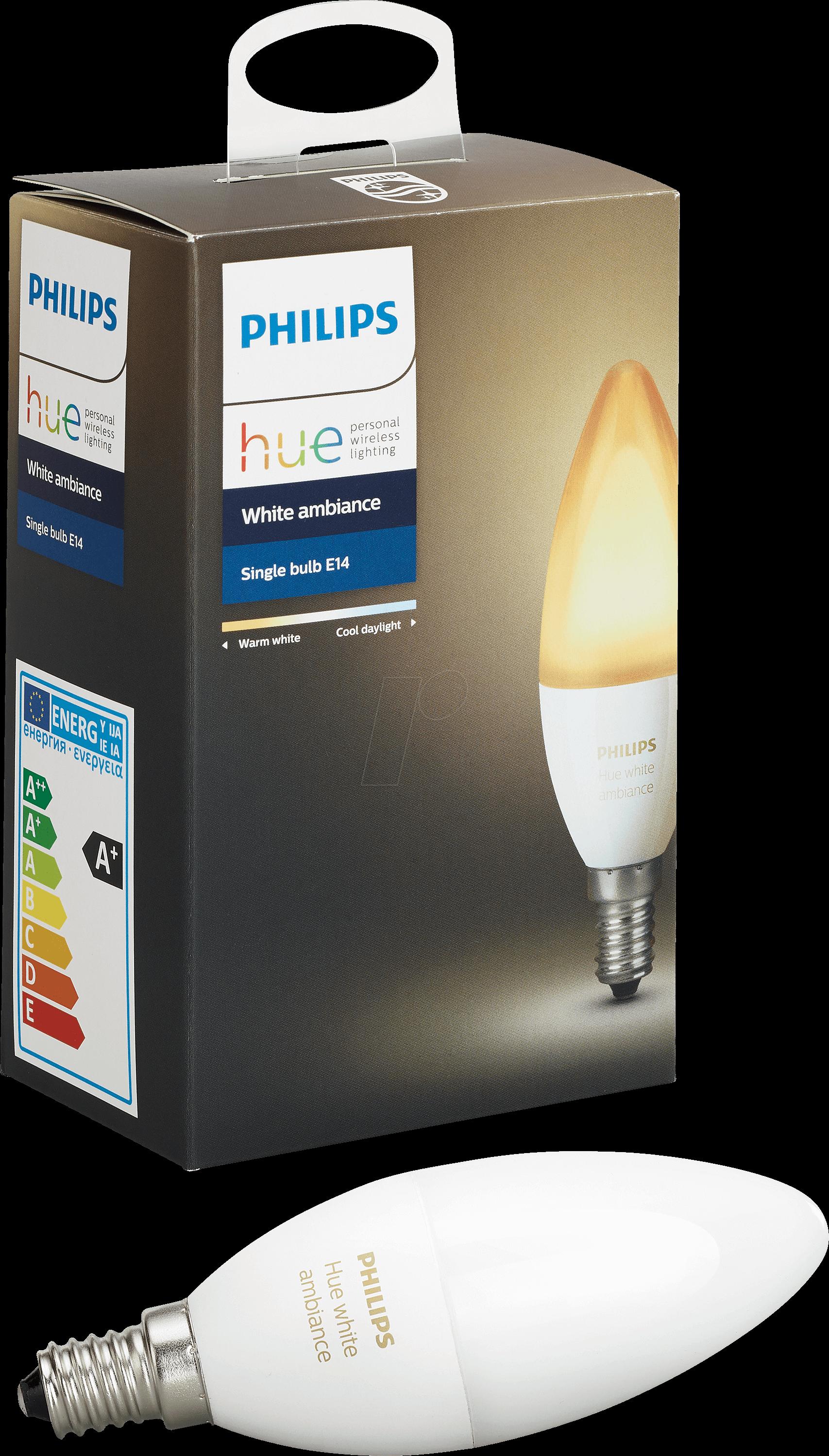 Philips Hue Lampen E14.Phi 696695203 Smart Light Lamp E14 6w White Eec A At Reichelt