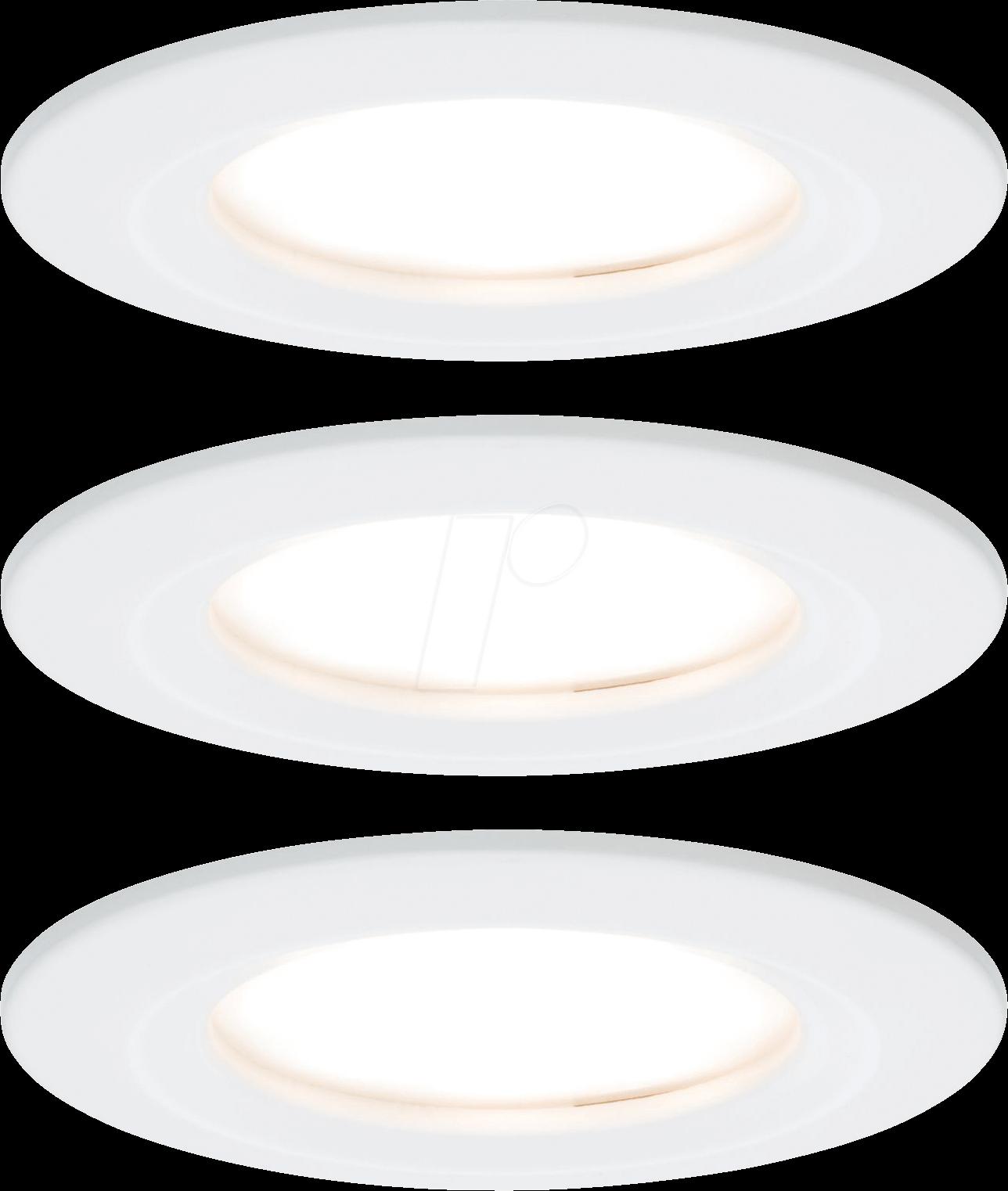 Paulmann 93496 Einbauleuchte LED Coin Nova rund 6,5W
