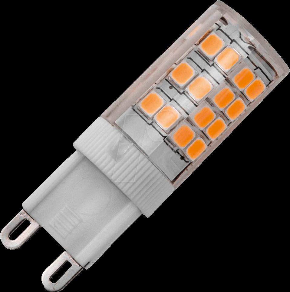schi l022352607 led lampe g9 3 5 w 350 lm 2700 k dimmbar bei reichelt elektronik. Black Bedroom Furniture Sets. Home Design Ideas