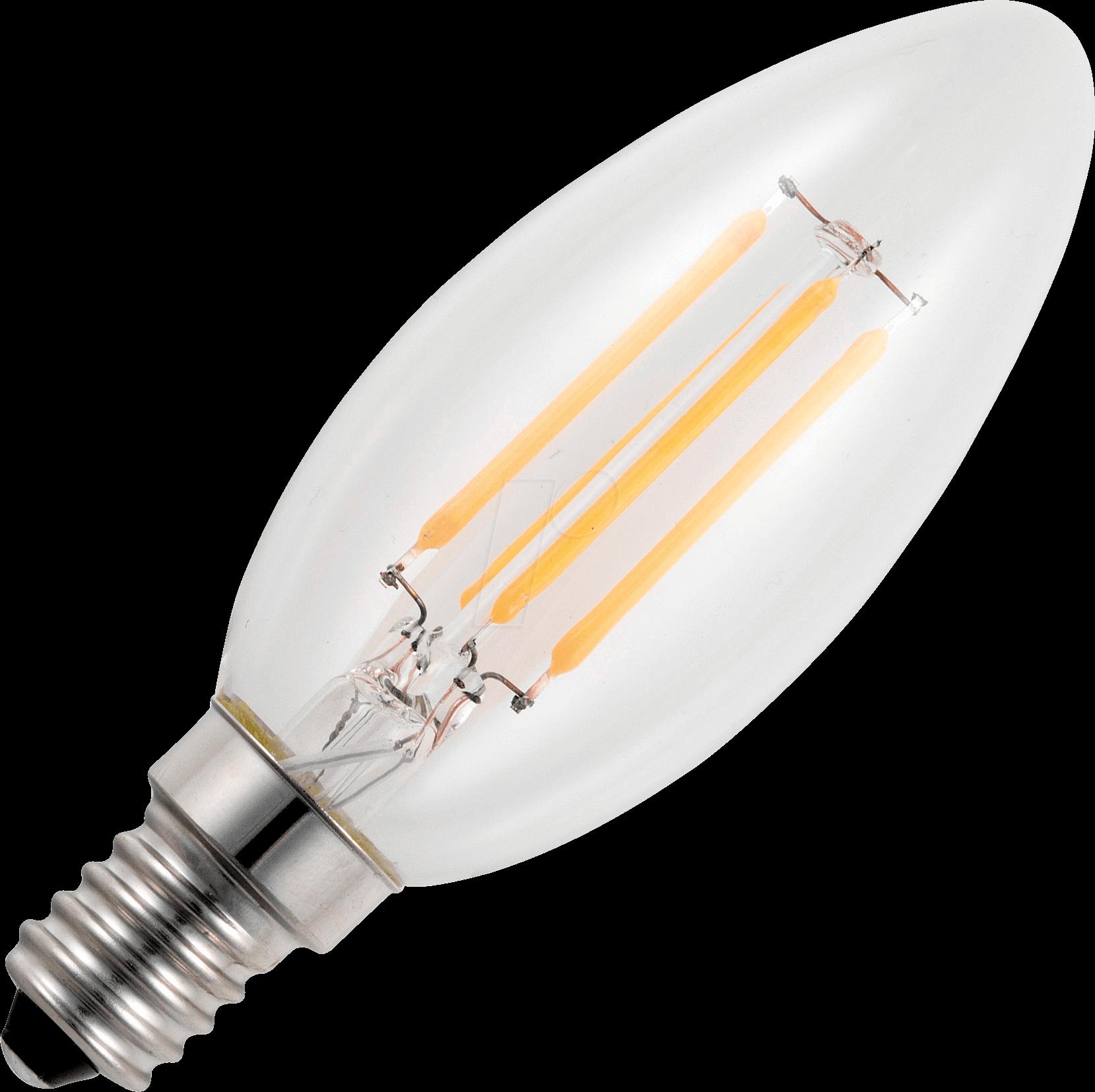 SCHI L149124922: LED-Lampe E14, 4 W, 250 lm, 2200 K, Filament ...