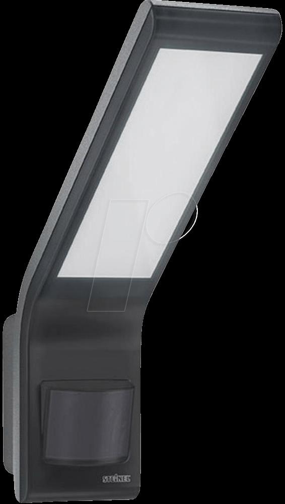 steinel 012052 flood light xled home slim anthracite at. Black Bedroom Furniture Sets. Home Design Ideas