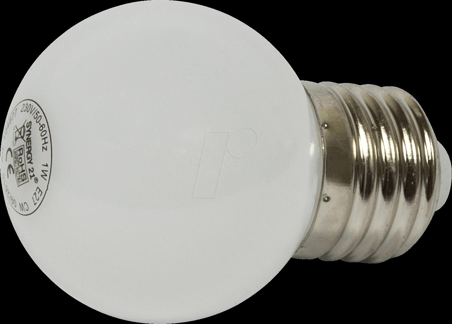 Led Lampen E27 : Syn 124279: led lampe e27 1 w warmweiß bei reichelt elektronik