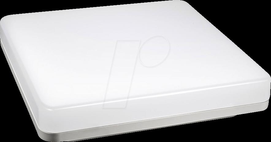VT-1391 - Deckenleuchte, 15 W, 1250 lm, 6400 K, quadratisch, weiß