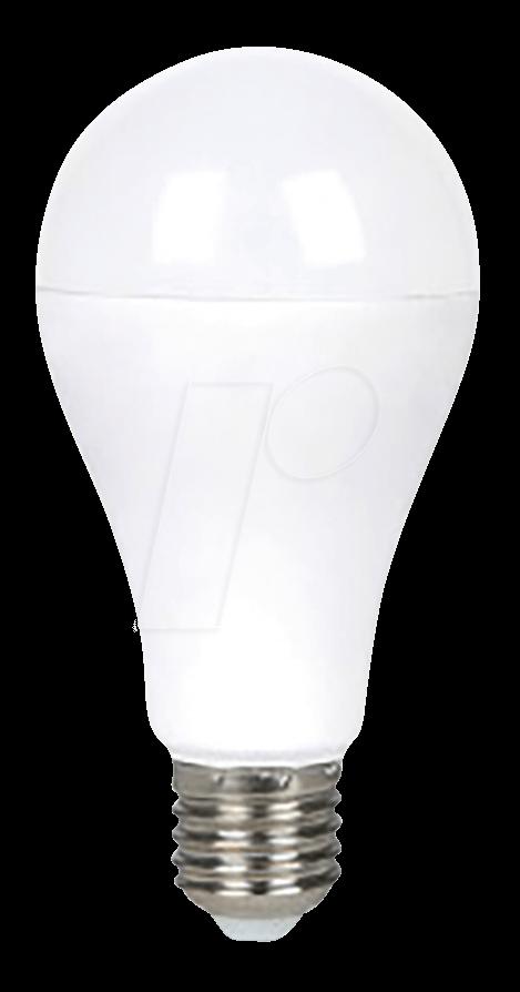 VT-4453 - LED-Lampe E27, 15 W, 1500 lm, 2700 K