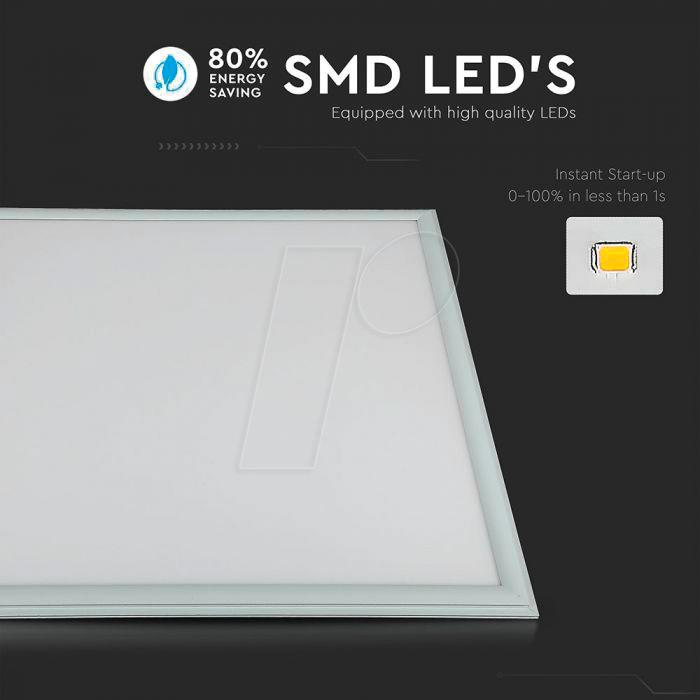 Vt 6217 Led Panel 45 W 3600 Lm 4000 K Quadratisch Bei Reichelt Elektronik