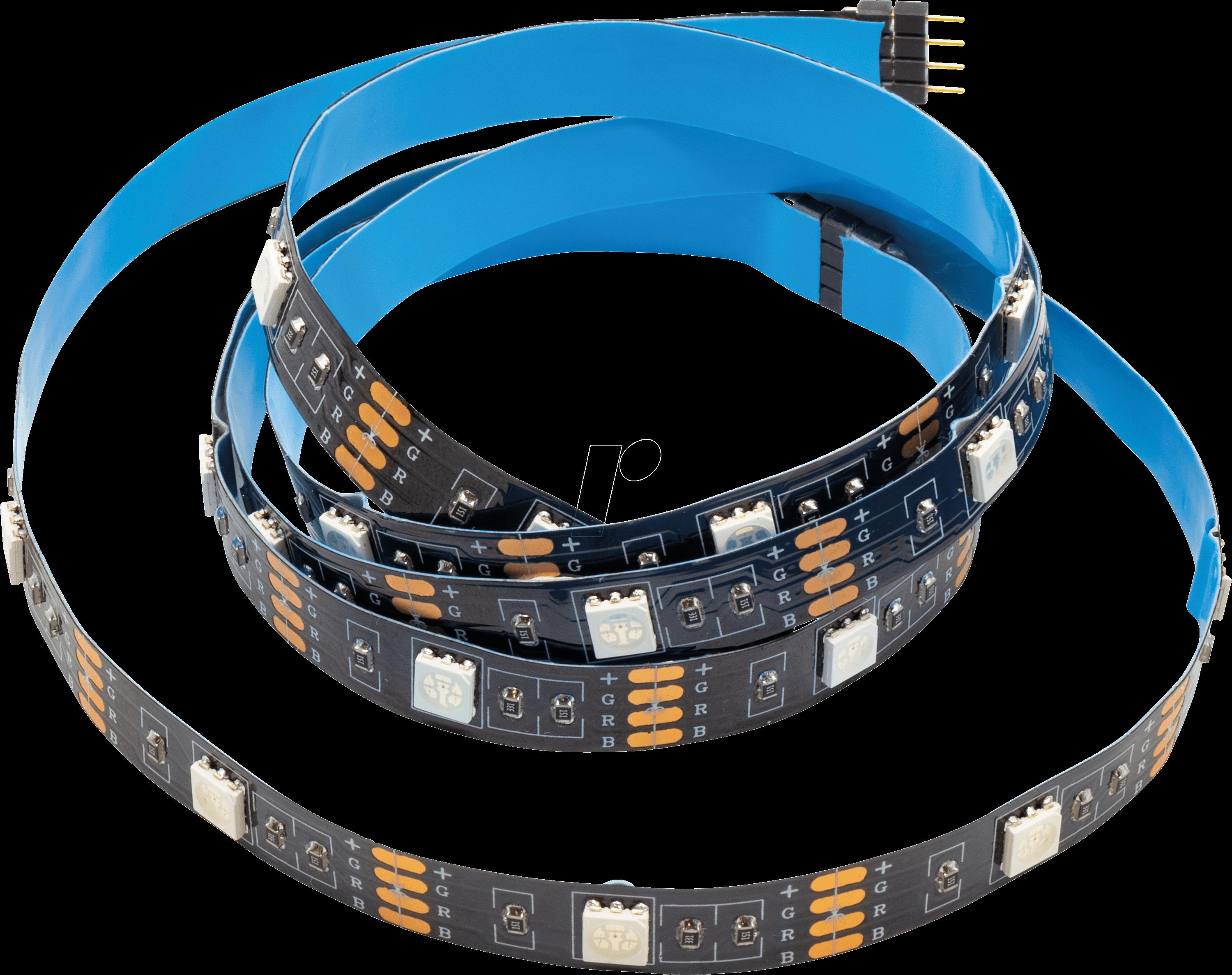 5 LED, Flexibler LED-Stripe in tageslichtweiß Schnittmöglichkeit alle 166 mm
