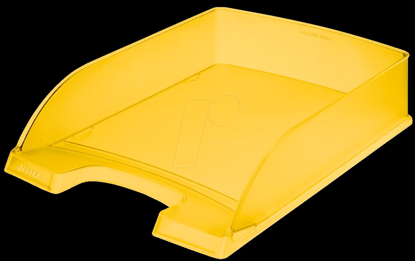 LEITZ 52270010 - Briefkorb A4 Standard Plus, gelb frost