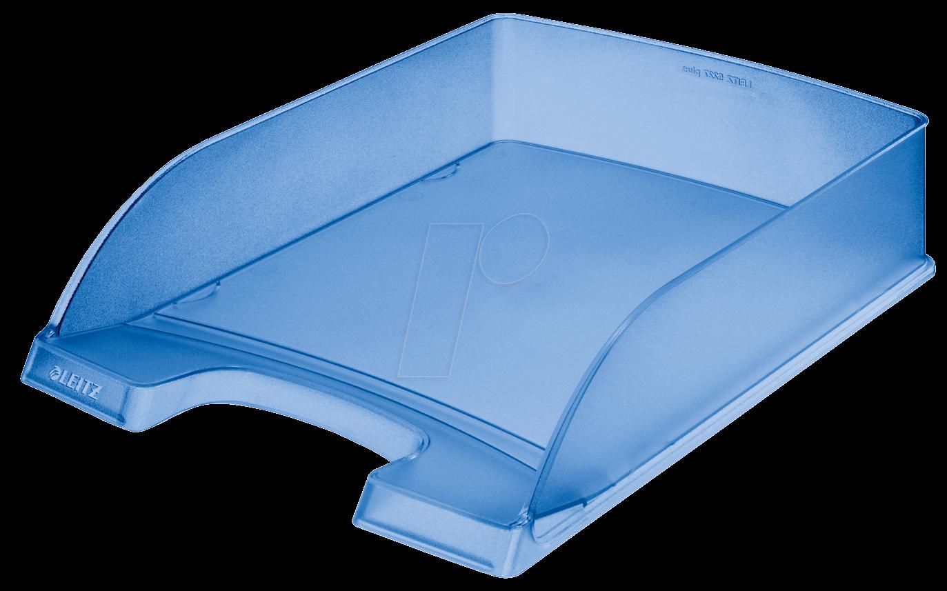 LEITZ 52270034 - Briefkorb A4 Standard Plus, blau frost