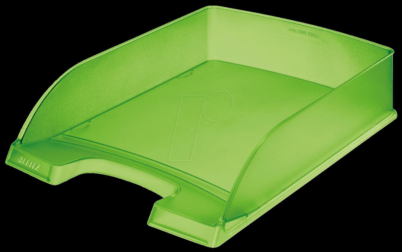 LEITZ 52270056 - Briefkorb A4 Standard Plus, grün frost