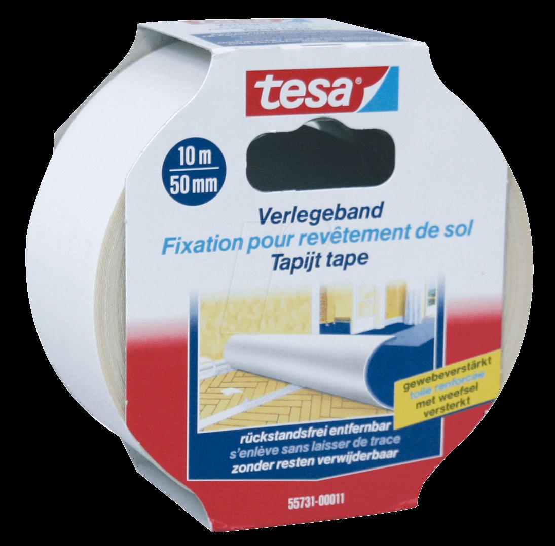 tesa 55731 tesa laying tape removable 10m x 50mm at reichelt elektronik. Black Bedroom Furniture Sets. Home Design Ideas