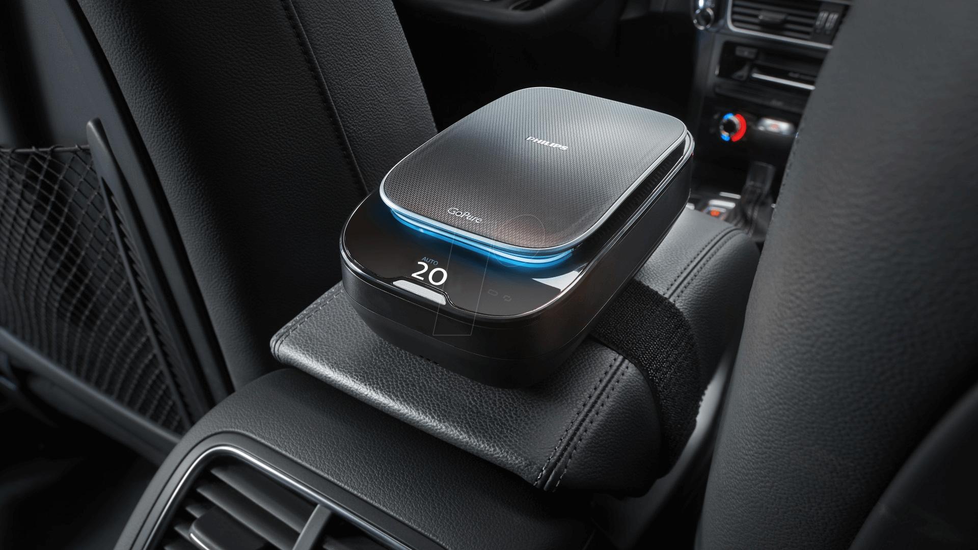Car Air Purifier : Gopure sl slimline car air purifier at