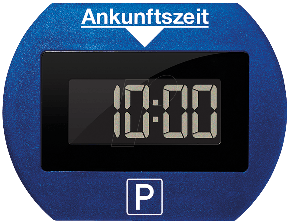 parklite bl park lite electronic parking disc blue at reichelt elektronik. Black Bedroom Furniture Sets. Home Design Ideas