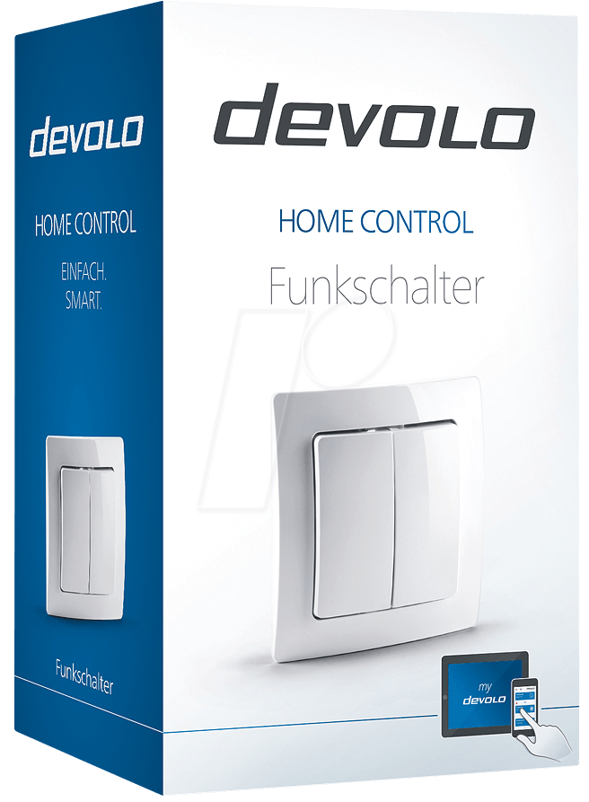 devolo 9359 funkschalter home control z wave bei reichelt elektronik. Black Bedroom Furniture Sets. Home Design Ideas