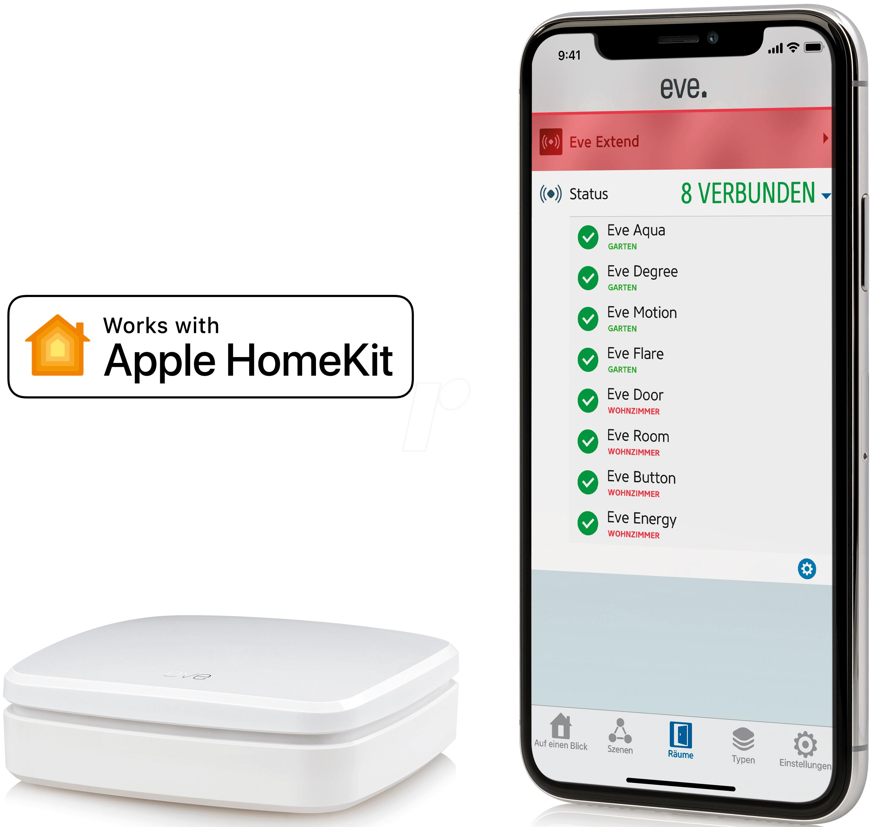 Eve Extend Eve Extend Bluetooth Range Extender Apple Homekit At Reichelt Elektronik
