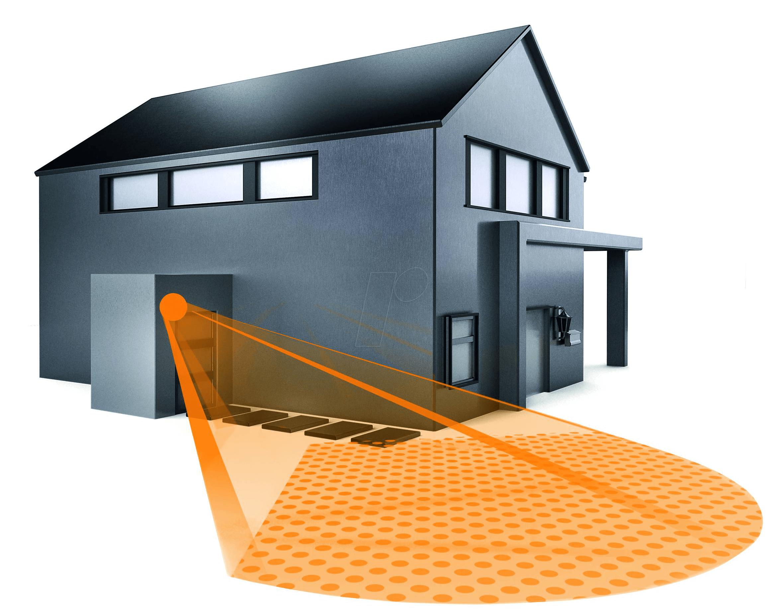 steinel 029814 bewegungsmelder is 140 2 z wave wei bei reichelt elektronik. Black Bedroom Furniture Sets. Home Design Ideas