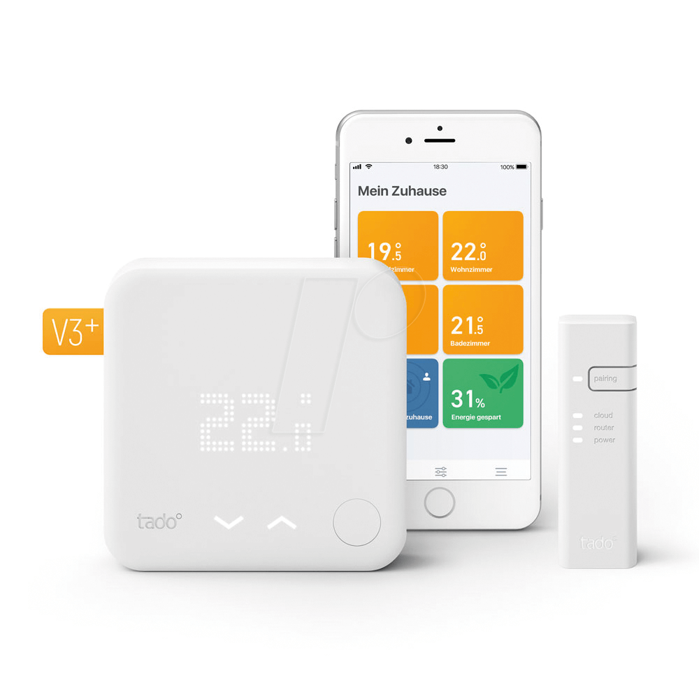 Tado Stktv3 Smartes Thermostat Starter Kit V3 Bei