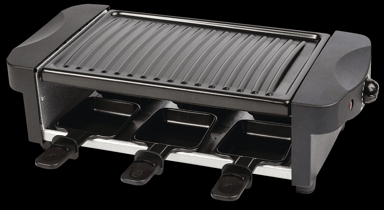 az fc30 raclette grill 6 personen 1000 w bei reichelt. Black Bedroom Furniture Sets. Home Design Ideas