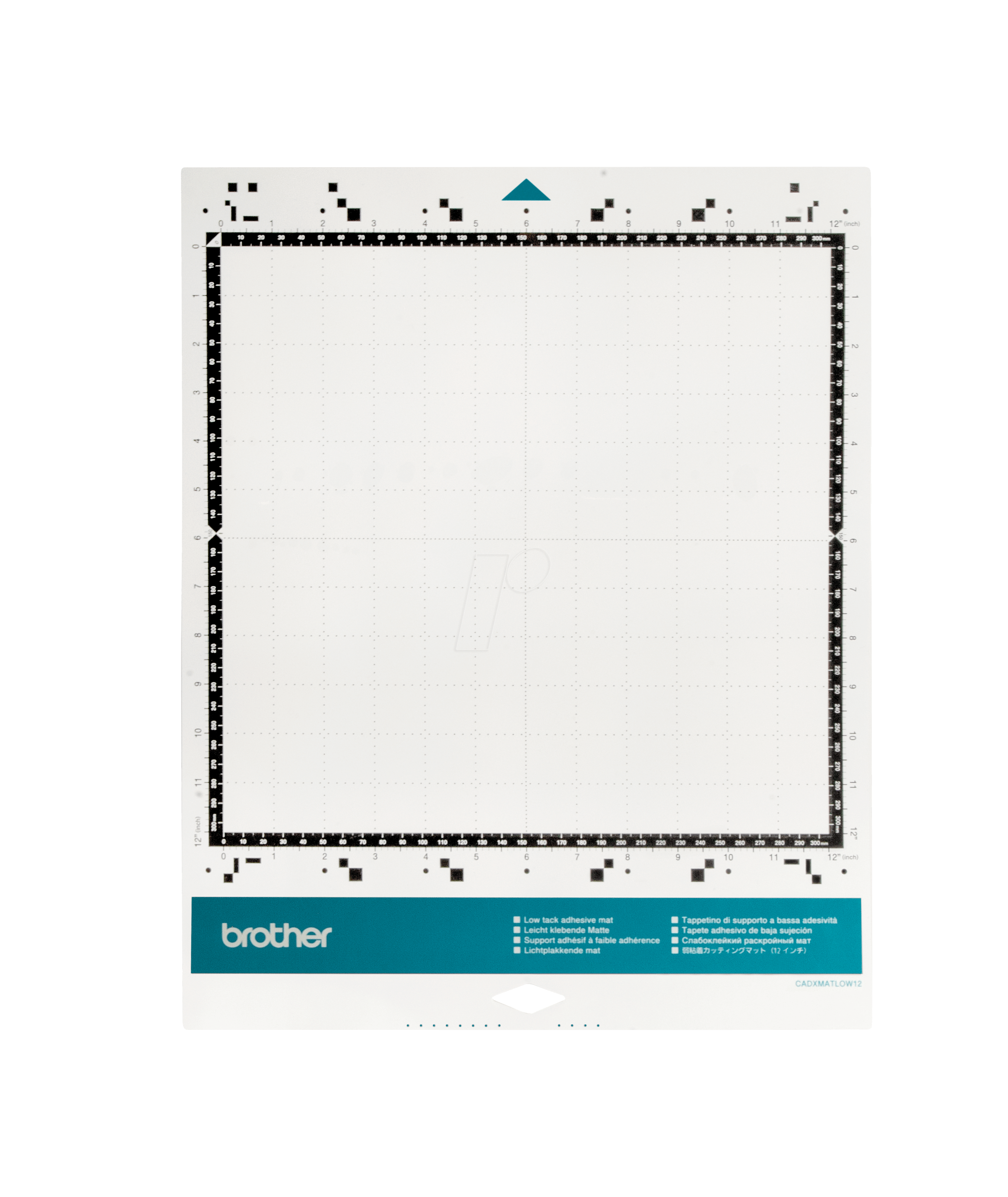"Brother Low Tack Adhesive Mat CADXMATLOW12 12/""x12/"""