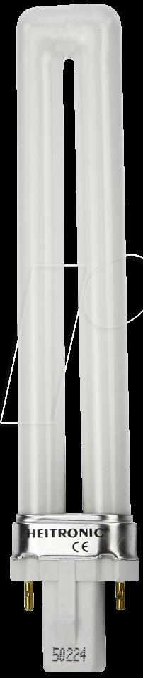 EL 9W-G23 - Energiesparlampe G23, 9 W, 500 lm, 2900 K