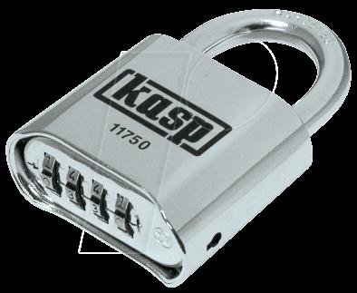 kasp k11750d zahlenschloss 4 zahlenreihen 50mm bei
