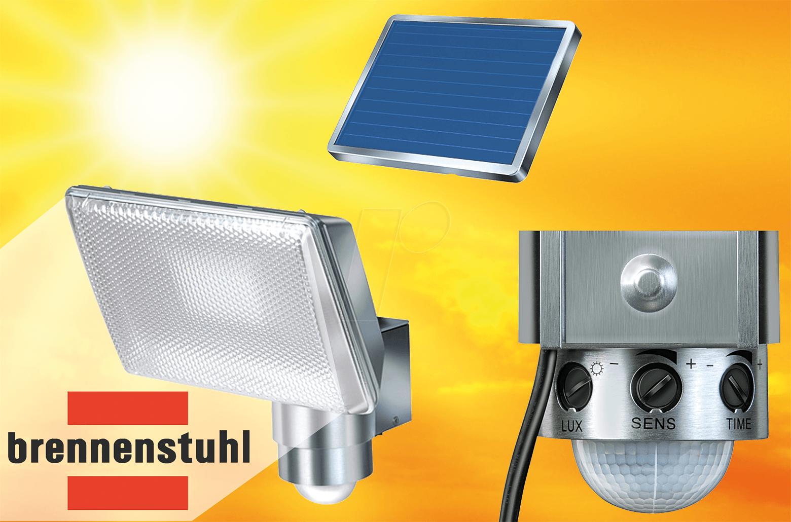 SOLAR LED SOL AL: LED Solarstrahler mit Bewegungsmelder ...