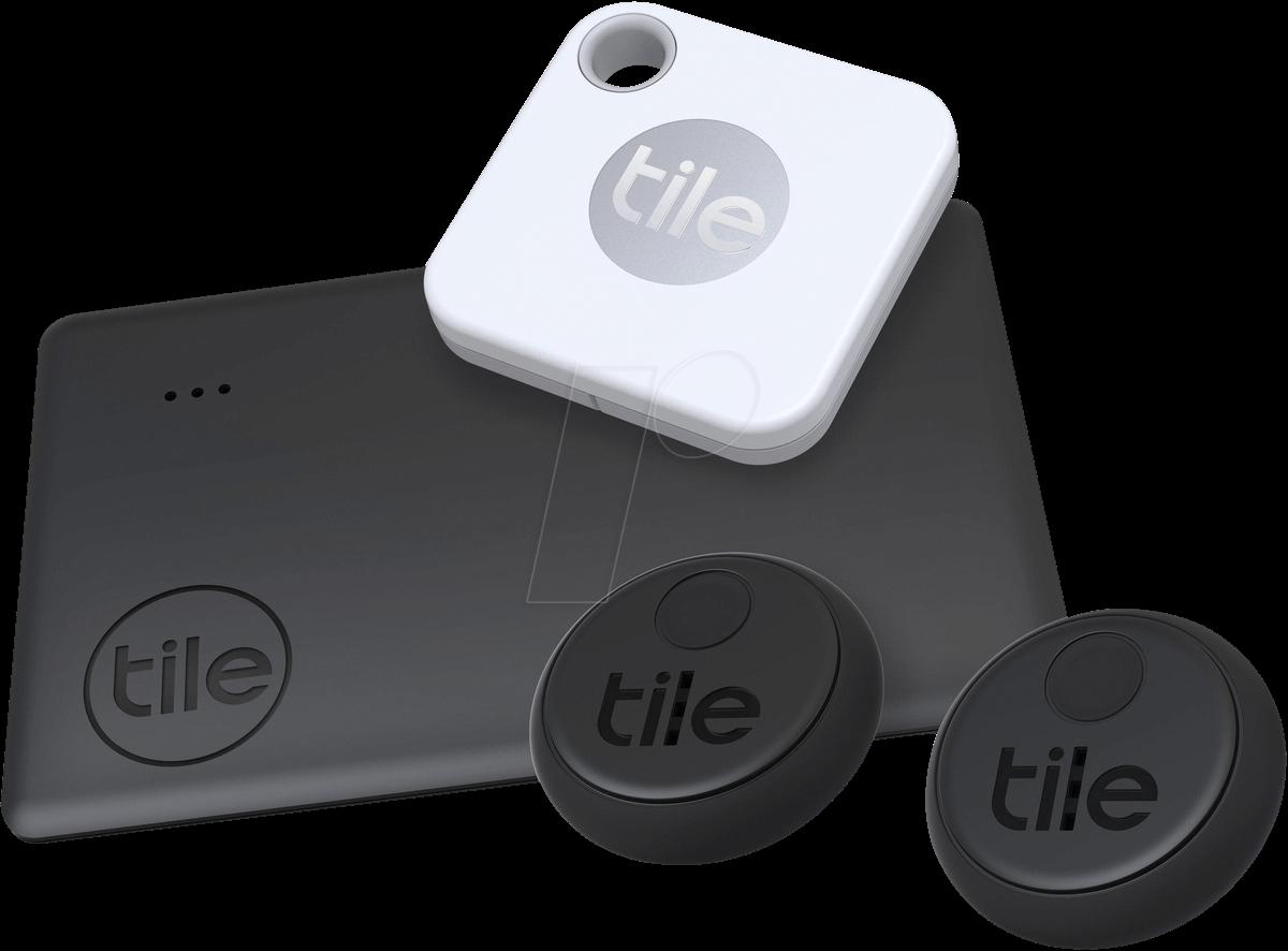 TILE RE-24004: Tile Bluetooth Tracker Essentials (Slim 2, Mate+, 2x  Sticker) at reichelt elektronik