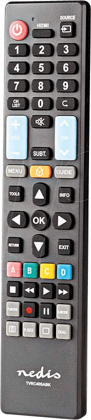 N TVRC40SABK - Replacement remote control, LG TV, ready for use