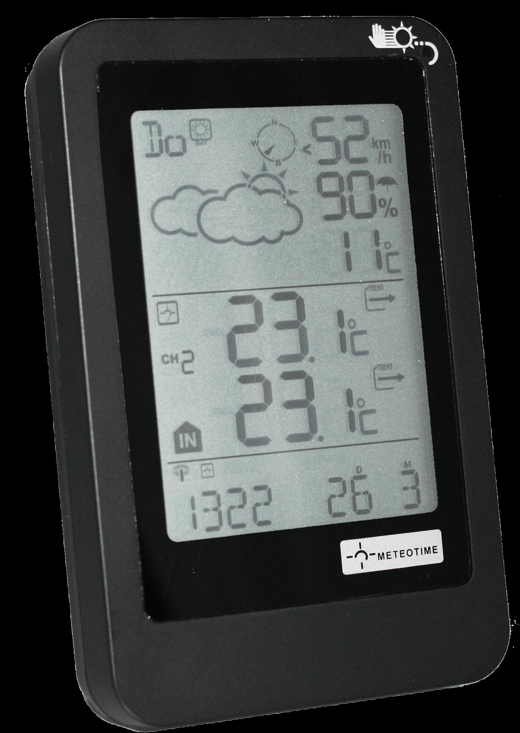 VENTUS W927 - Wetterstation mit Außensensor