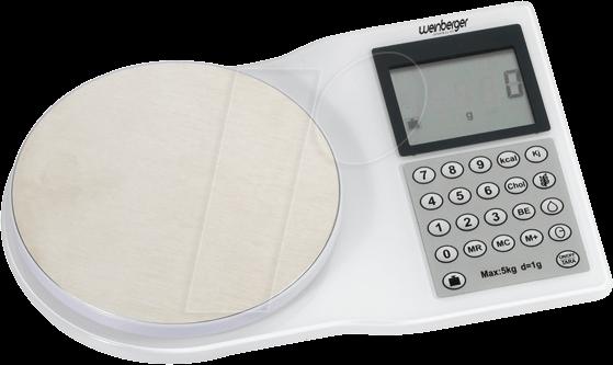 WS 06682 - Haushaltswaage, elektronisch, Diät