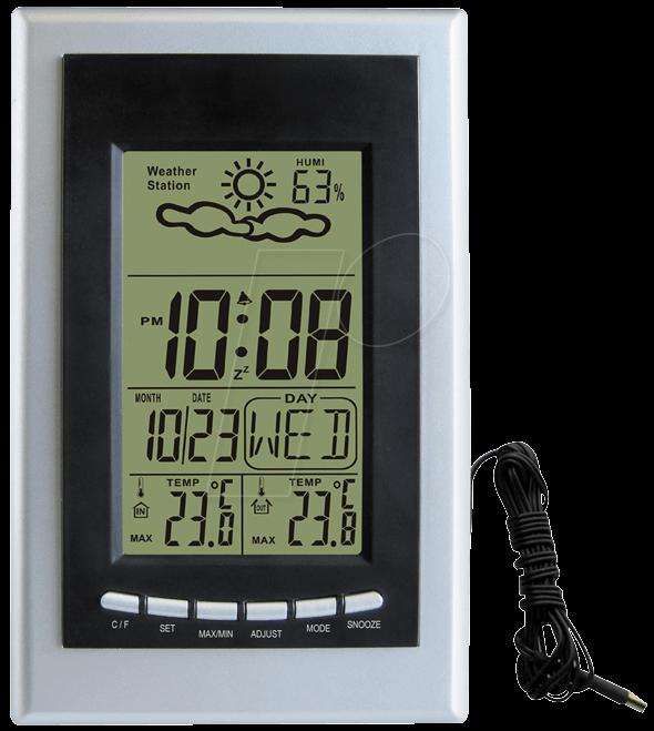 WS 8706 - Wetterstation mit kabelgebundenem Auß...