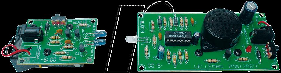 MK120 - Bausatz: IR-Lichtschranke