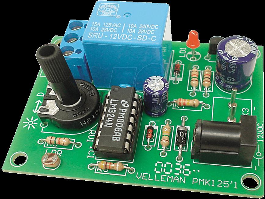 MK125 - Bausatz: Dämmerungsschalter