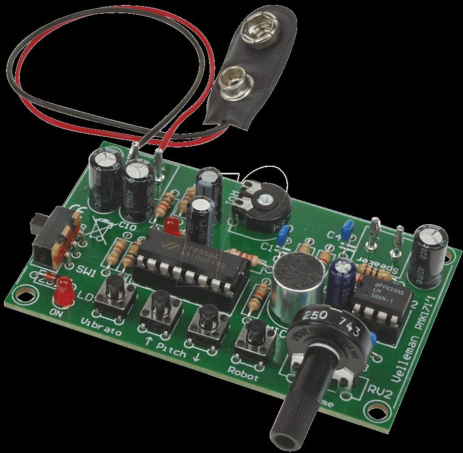 MK171 - Bausatz: Stimmenverzerrer