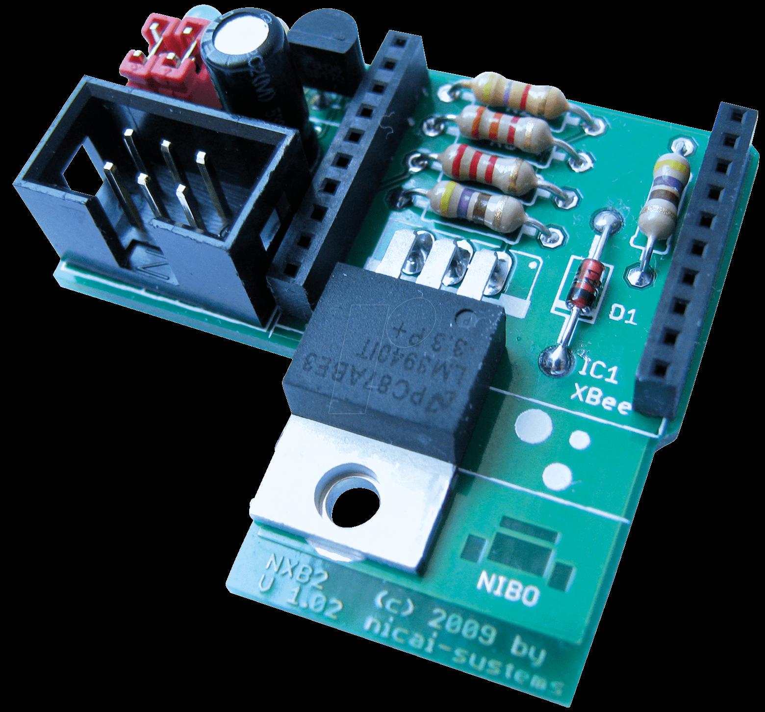 NIBO NXB2 - NXB2 Adapterplatine für Anschluss XBEE
